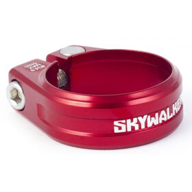 Sixpack Skywalker Morsetto sella Ø31,8mm rosso